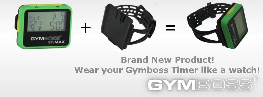 Brand New Item - Gymboss Watch Strap! / Gymboss Blog | Gymboss
